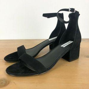 STEVE MADDEN Irenee Ankle Strap Sandal 11M Black